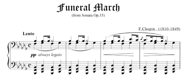 Chopin's Funeral March